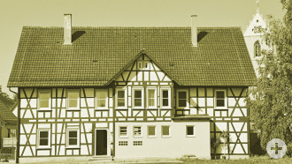 Fachwerkgebäude an der Bachsatzgasse